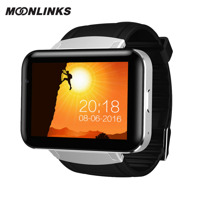 Moonlinks DM98 relogio smart watch 900mAh durable battery mens smart watch GPS video call smartwatch 2018 android horloge wireless service call bell system popular in restaurant ce passed 433 92mhz full equipment watch pager 1 watch 7 call button