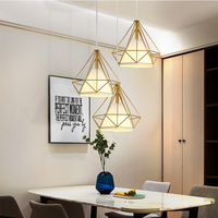 Retro Pendant Light Kitchen Island Light Attic Pyramid Wrought Iron Restaurant Industrial Decoration Retro Design Light Lamp