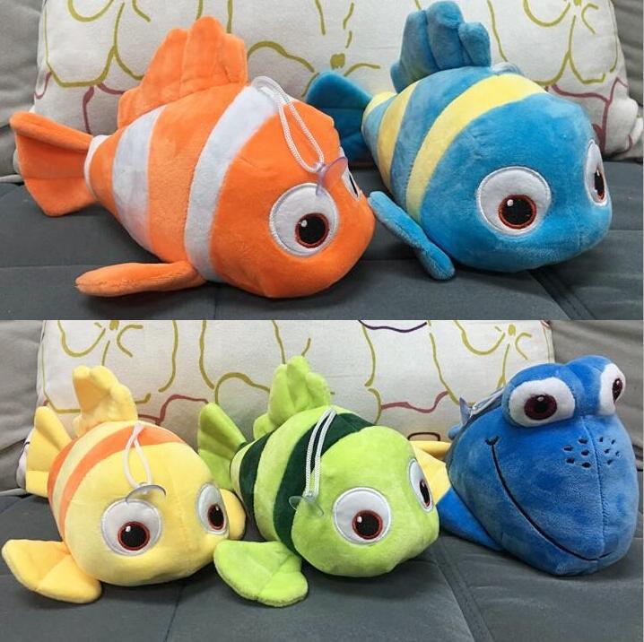 5 Styles Finding Dory Plush Toys 25cm Finding Nemo Stuffed Animals