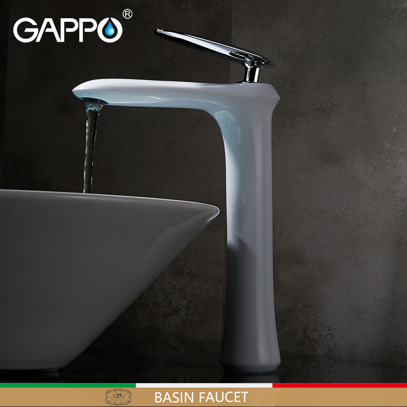 GAPPO Basin Faucet bath tap waterfall sink bathroom mixer shower faucets water Deck Mounted sink taps