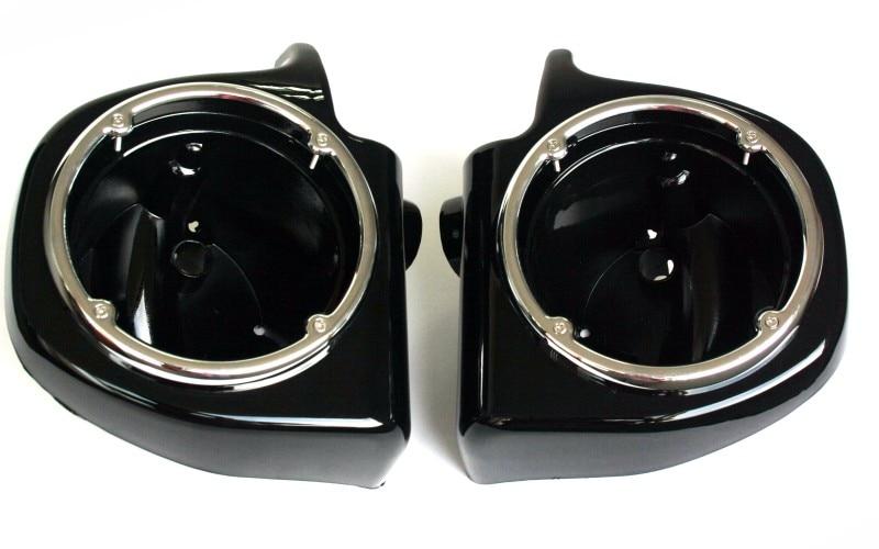 Painted Black Vented Lower Fairing 6.5