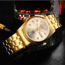 2018 Новый считываемый ход мужские часы автоматические механические часы повседневные модные водонепроницаемые кварцевые мужские часы