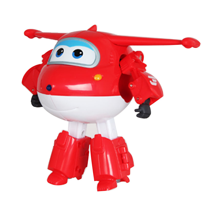 Hot ABS Super Wings Deformation Airplane Robot Action Figures Transformation Kids Toys Children Gift Brinquedos With Box new original transformation 5 robot toy deformation car robot action figures toys brinquedos children toys gifts