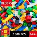 1000 pcs tijolos para construção da cidade ajustadas diy criativo tijolo brinquedos para crianças educacional building block bricks massa compatível com lego