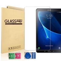 [2 Pack] dla Samsung Galaxy Tab A6 A 10.1 2016 ochraniacz ekranu ze szkła hartowanego SM T580 T585 P580 P585 model folia ochronna w Ochraniacze ekranu do tabletów od Komputer i biuro na