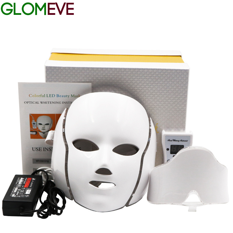 Spa-Instrument Light Rejuvenation Facial-Mask Skin-Care Photon Led Wrinkle Beauty-Therapy