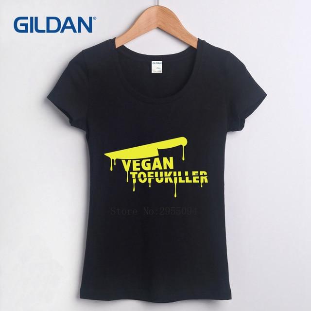 Blank Tee Shirt 2017 Veganism Vegan Tofu Killer Create T Shirt Hop