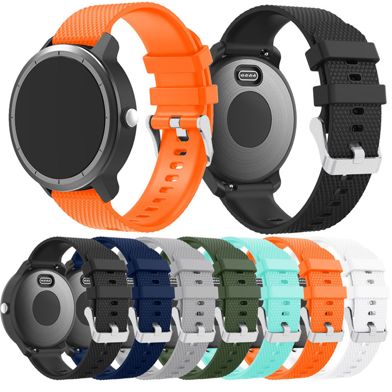 Band Strap For Garmin Vivoactive 3 Soft Silicone Replacement Sport Wirst Band Strap For Garmin Vivoactive 3 May.10 javrick silicone wristband bracelet band replacement for garmin vivoactive acetate watch sports watch watchbands accessories