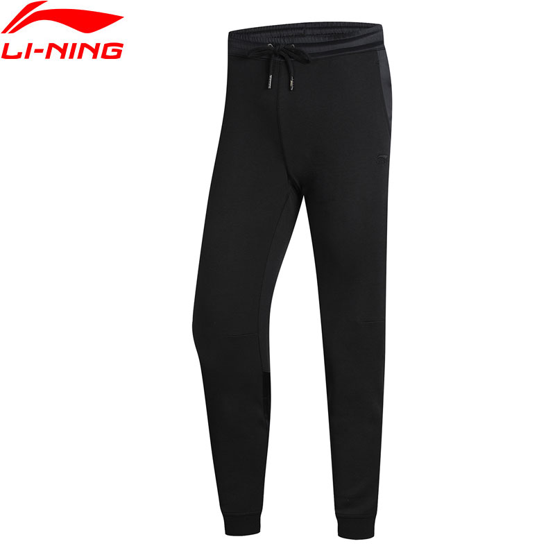 Li-Ning Women The Trend 9/10 Sweat Pants Regular Fit Knit 82%Cotton 18%Polyester LiNing Li Ning Sports Trousers AKLN358 WKY189