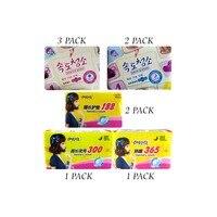 9 pack/lot high quality Feminine Hygiene Product Sanitary Towels Organic Cotton Pads Sanitary Napkin Panty Liners Sanitary Pads