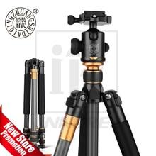 QZSD Beike Q999C ածխածնային մանրաթել պրոֆեսիոնալ եռոտանի Monopod Ballhead Changeabel DSLR ֆոտոխցիկի համար 1400 գ Զուտ քաշով 159 սմ առավելագույն բարձրություն
