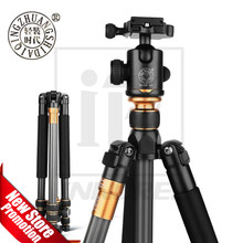 QZSD Beike Q999C Carbon Fiber Professional Tripod Monopod Ballhead Changeabel For DSLR Camera 1400g Netweight 159cm max height(China)