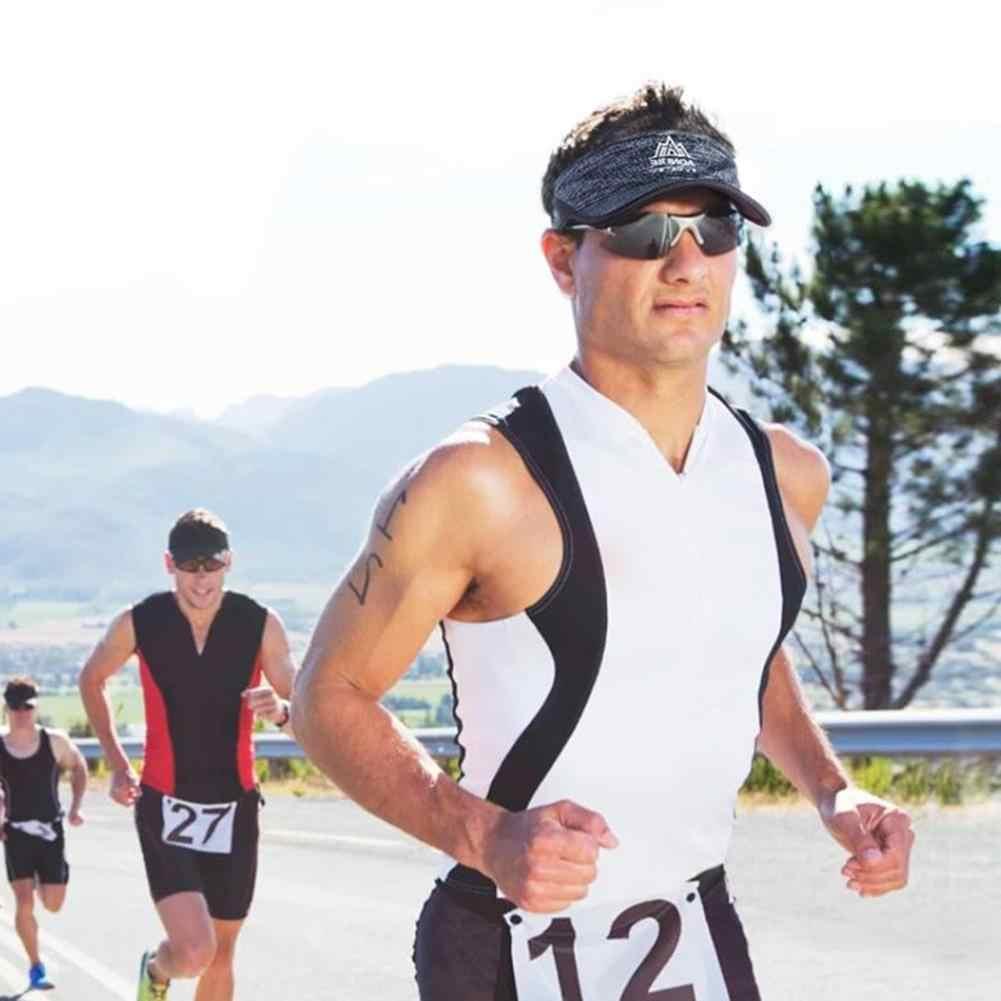 צעיף כובע Runing מתכוונן ריצה Homme קמפינג חיצוני ריצת ספורט גברים נשים שמש כובע יום הולדת פסטיבל מתנות Gorras Mujer