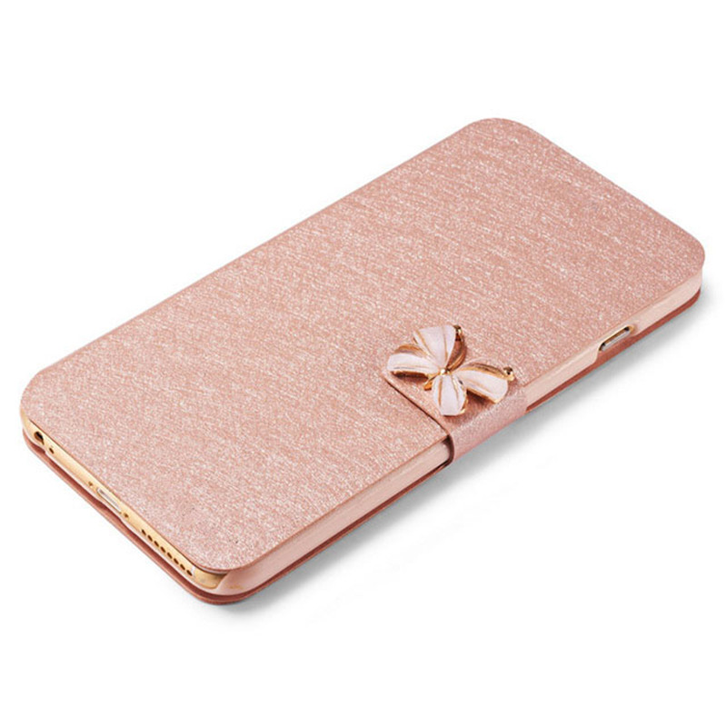 For Asus Zenfone Go TV ZB551KL 5.5Luxury leather Silk Flip Cover For Asus Zenfone Go TV Phone Bag Case Cover With Diamond