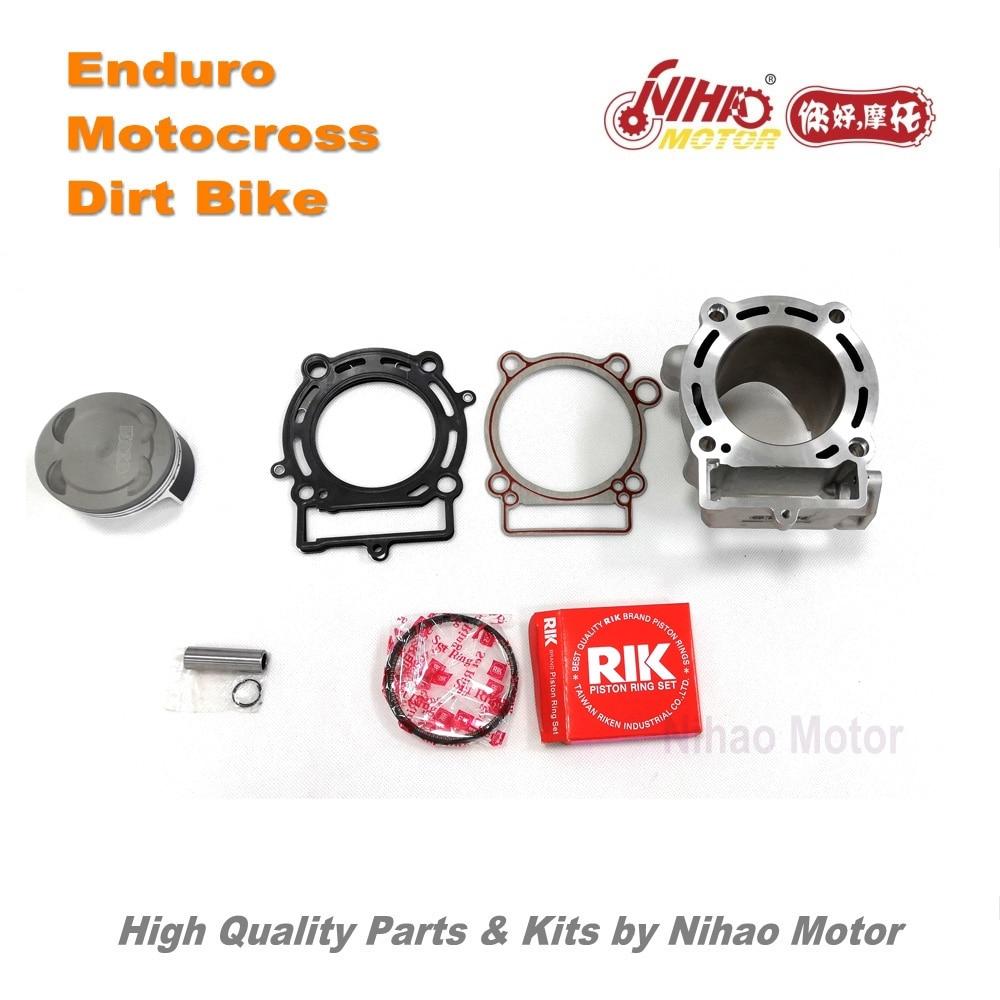 38 Motocross Parts ZONGSHEN NC250 NC300 Cylinder kit performance gasket piston Enduro engine set Dirt bike KAYO APOLLO XMOTOR цена