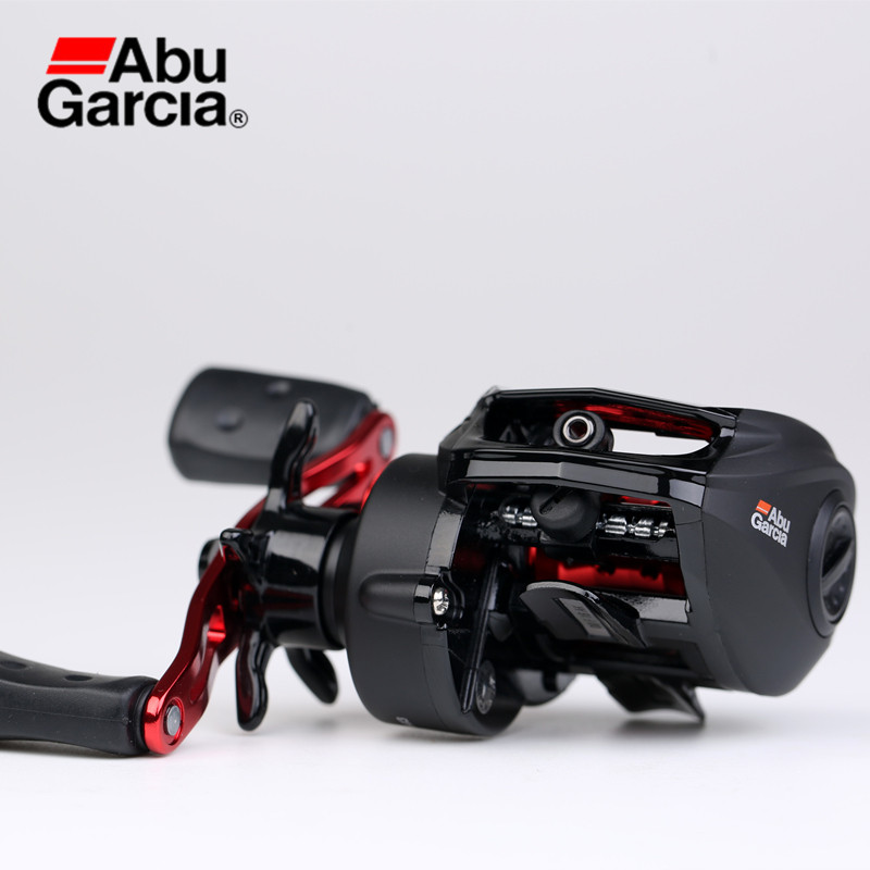 Abu Garcia BMAX3 Bait Casting Reel Left/Right Hand Saltwater Freshwater Fishing Reel 4+1BB 6.4:1 Power Disk System Max Drag 18LB abu garcia pmax3 l left hand bait casting reel drum trolling fishing reel 7 1 bb 7 1 1 207g drag 8kg line 12lb 132m tackle tools
