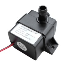 High Performance QR30E DC 12V 4.2W 240L/H Flow Rate CPU Cooling Car Brushless Water Pump Waterproof Brushless Pump black original bykski b pump pav2 water cooling pump power waste 10w 3 meters qdistance 3800rpm 500l h flow rate 4pin