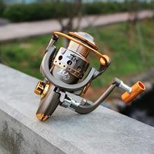YUMOSHI JC Fishing Spinning Reel Fresh/Salt Water Metal Power Drag Baitcasting Fishing Reel Carp Bait Cast GapLess Reel Tackle yumoshi sg5000a fishing spinning reel silver size m