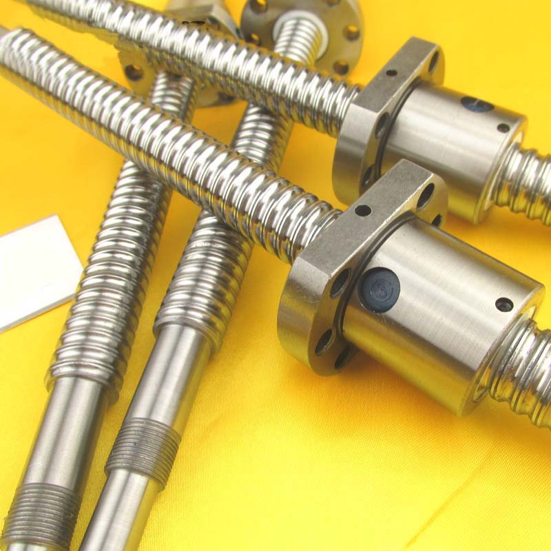 MRO SFU1204 Ball Screw Set Length 250mm Ball Diameter 12mm With One Ball Nut End Machined