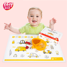 Food Grade Disposable Baby Placemats Portable Cute Cartoon Infant Feeding Table Mat Waterproof Sticky