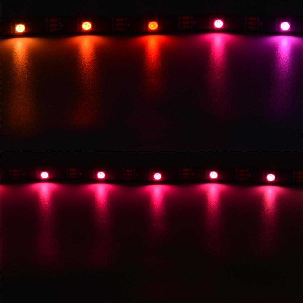 Itimo rgb 1 м/5 м Smart LED пикселей полосы света комнаты украшения атмосфера лампа WS2812B WS2812 IC индивидуально адресуемые DC 5 В