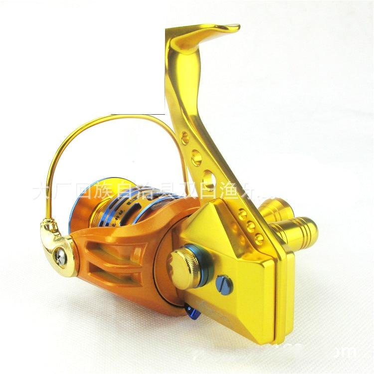 Micro-base de Rodas de Chumbo Leo Pesca Roda Carretel 27510