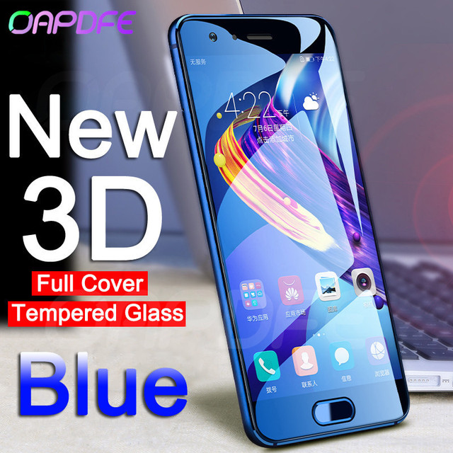 Oapdfe 3D полное покрытие закаленное Стекло на для huawei Honor 10 V10 V9 Экран протектор для Honor 9 Lite 8 Lite защитная пленка