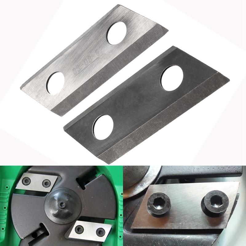 2 CÁI Vườn Shredder Chipper Blades Cutters Set Cho Eco ES1600 McCulloch MCS2001 set set cutter  - AliExpress