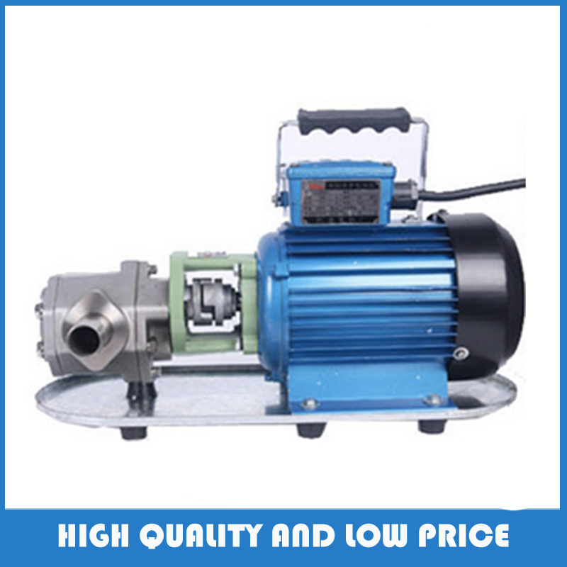 WCB-30p stainless steel electric fuel centrifugal oil pump gear pump high pressure цена