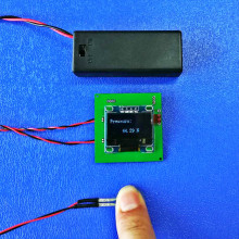 лучшая цена Piezoresistive film pressure sensor New upgrade of pressure test display module