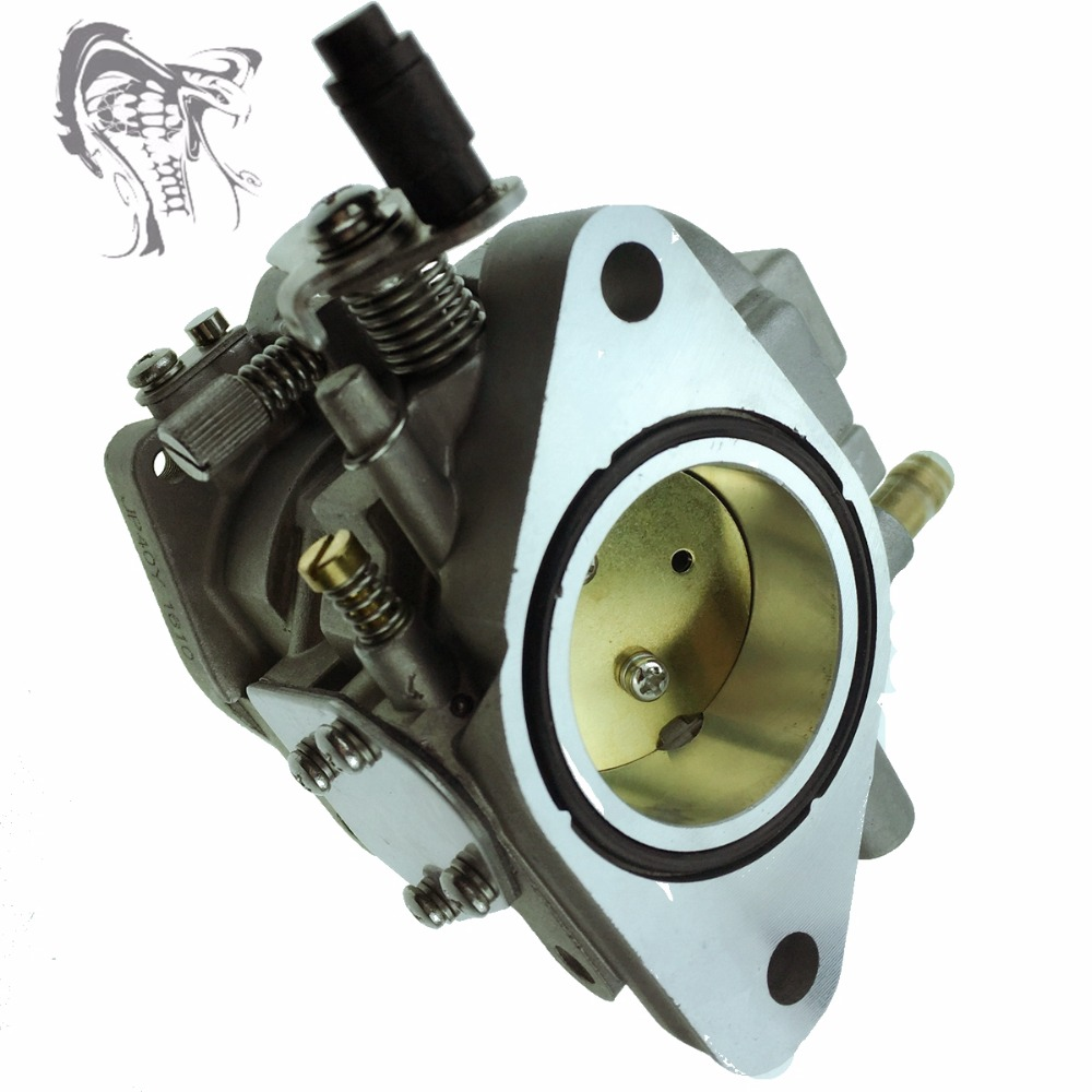 New Carburetor Assy for Yamaha 2 stroke 40HP 40X E40X 40XMH 66T-14301-02 40hp electric start kit for yamaha e40