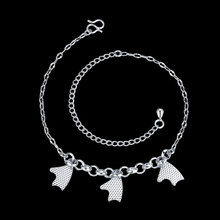Fashion Fish Heart Hot Girls Handmade Sexy Women Chain Anklet Bracelet Barefoot Sandal Beach Foot Jewelry Silver/Silver Plated