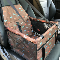 Comfortable Pet Dog Carrier Basket Pet Car Seat For Small Dogs Foldable Booster With Safety Buckle Pet Car Travel Accessories