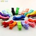 """10 pcs 2 """"Rainbow cores meninas Do Bebê Arco Laços de Fita para o cabelo Pequeno grampo de cabelo accessoires Crianças lovely Little presilhas de Cabelo pin"""