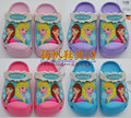 new 2016,anna elsa,dora,car,spiderman,minions,hulk,3D cartoon beach slipper,baby sandal,kids shoes,boy girl shoes