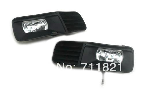Front Fog Light Kit For VW Polo 6N free shipping new pair halogen front fog lamp fog light for vw t5 polo crafter transporter campmob 7h0941699b 7h0941700b