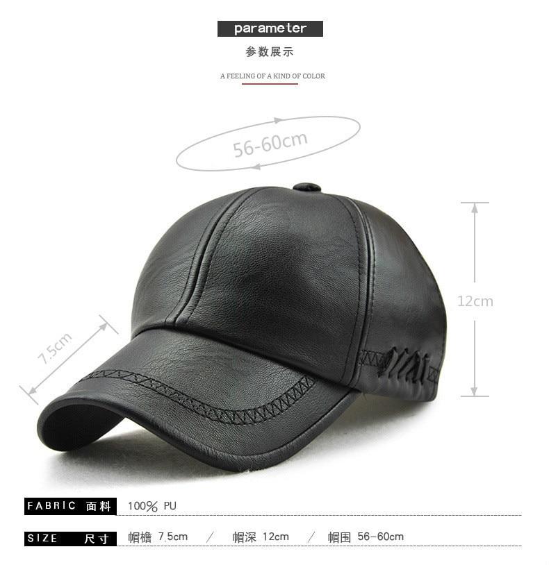 JAMONT los nuevos hombres gorra de béisbol Otoño Invierno sombrero ... 6753dcb4564