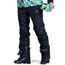Außen Eis Snowboard Skifahren Und Snowboarden Sport Snowboard Hosen Schnee Winter Ski Hosen Männer Hosen Wintersporthosen Männlichen