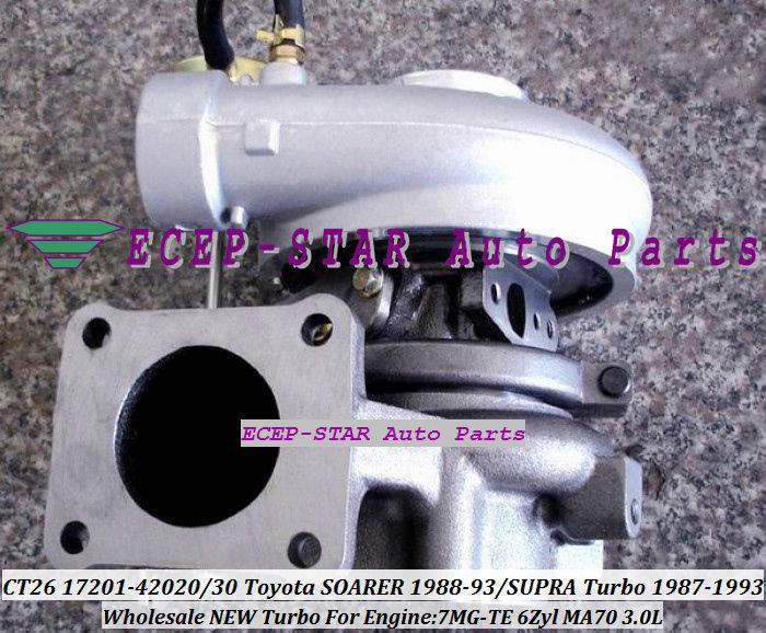 CT26 17201-42020 17201-42030 17201 42020 Turbocharger For TOYOTA - Pjesë këmbimi për automjete - Foto 1