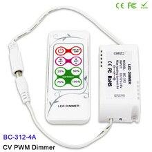 With 8 keys RF remote LED Dimmer,DC12V-24V,CV PWM Dimmer Controller for SMD 5050 3528 single color LED Strip Lighting tape стоимость