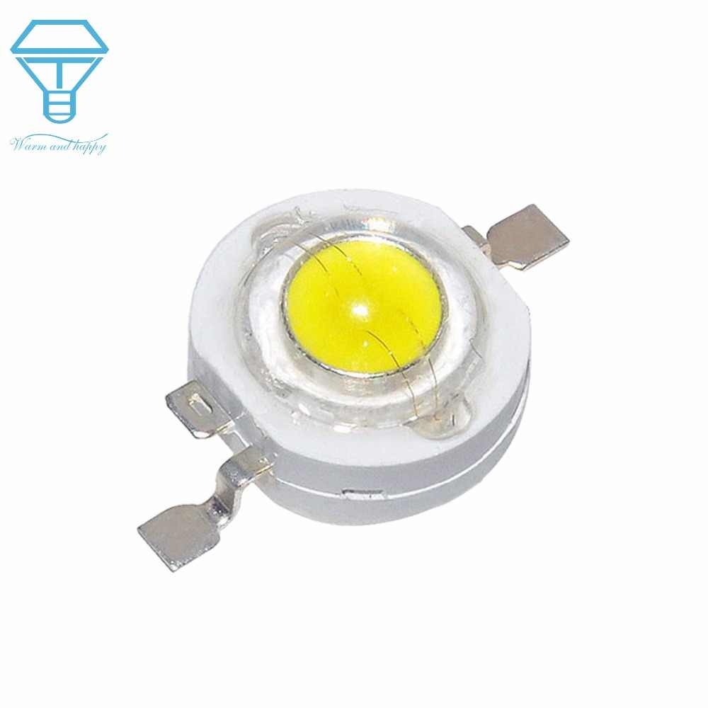 100PCS 1W 5W 3W High Power CREE LED Light Emitting Diodes LED SpotLight DownLight Diodes Lamp Bulb LED Yellow Red Green Blue DIY