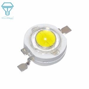 Image 1 - 100pcs LED 1W 3W Watt LED Light Emitting Diode headlight Power LED Flashligh LED For SpotLight DownLight Lamp LED Bulb DIY