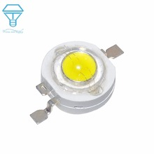 100pcs a lot  1W  White CREE Real enough 1W white High Power  LED lamp Beads LED Bulb Chip SMD for Spot light  Downlight  Bulb бра flexi white 3628 1w