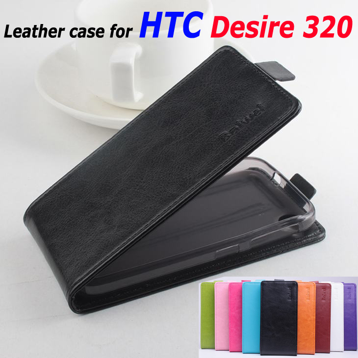 9 Colors High Quality Luxury Leather Case For HTC Desire 320 Flip Cover Case housing For Desire320 Cellphone Cover Phone Cases