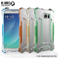 Newest Hard Aluminum Frame Bumper For Samsung Galaxy Note 5 Bumper Cover Back Metal Frame Bumper