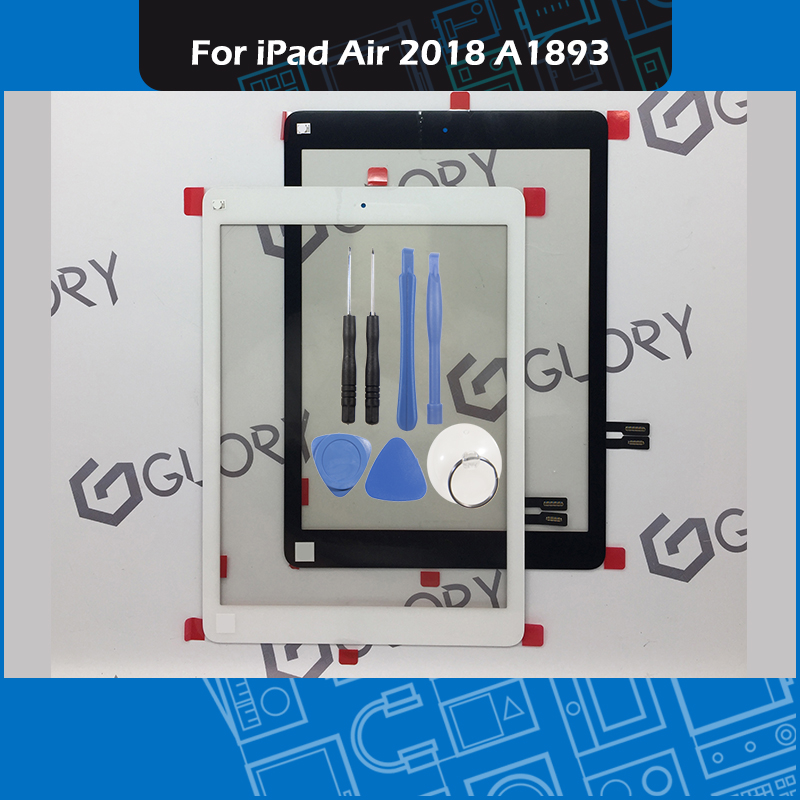 Black White A1893 Touch Screen Panel for iPad Air 2018 Digitizer Front Glass with Sticker Black White A1893 Touch Screen Panel for iPad Air 2018 Digitizer Front Glass with Sticker