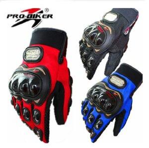 Image 1 - Motorcycle Motorbike Motocross Motor Fiber Bike Racing Gloves Glove Pro Biker
