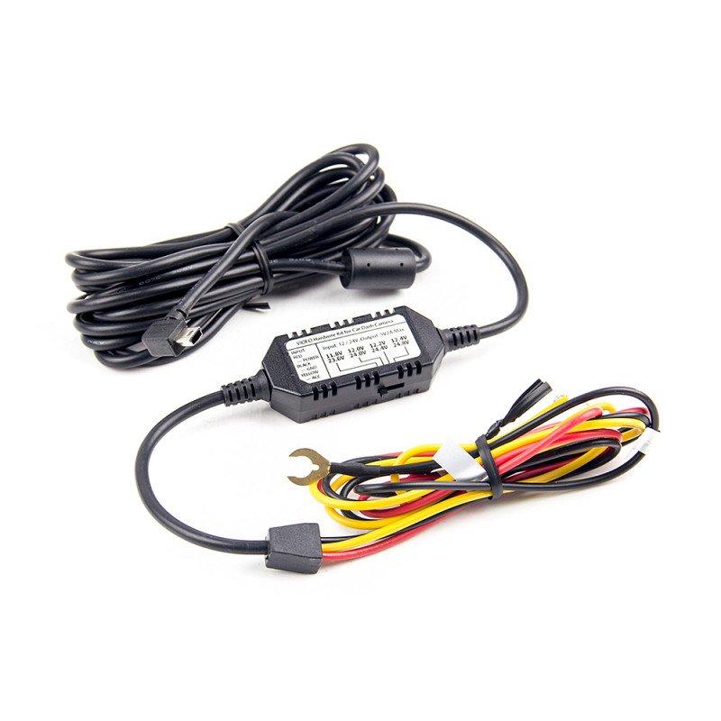 Original Cable de conexión directa 3 de ACC Mini USB para Viofo A129/A129 Duo Dash de la cámara del coche DVR grabadora de alambre duro Kit de Cable Mini USB2.0 5 piezas de filtro de agua de arandela para Karcher K2-K7 piezas de filtro de alta presión