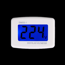Электрические Инструменты DM55-1 AC 80-300 В ЖК-Цифровой Вольтметр Вольтметр США Plug Электрические Ручка Тестеры Напряжения Новый горячая