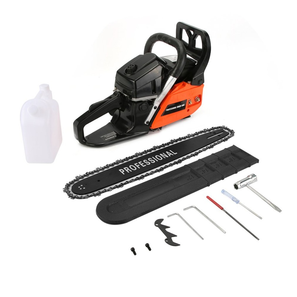 Newest Chain Saw 20 2 Stroke 62cc Gas Powered with Smart Start Super Air Filter System Automatic Carburetor and Tool KitNewest Chain Saw 20 2 Stroke 62cc Gas Powered with Smart Start Super Air Filter System Automatic Carburetor and Tool Kit